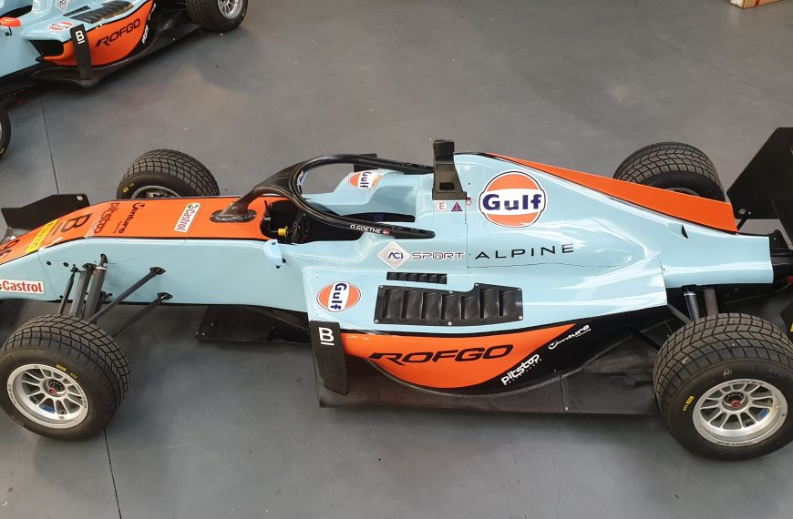 ROFGO JUNIORS TO RUN GULF OIL INTERNATIONAL LIVERY ON THE STREETS OF MONTE CARLO